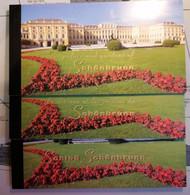NAZIONI UNITE - LOTTO 3 CARNET DI FRANCOBOLLI 1998 In Tre Lingue Differenti - PALAZZO E GIARDINO DI SCHONBRUNN - Collections, Lots & Séries