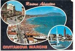 1976 £100 TRENTENNALE REPUBBLICA SU CARTOLINA CIVITANOVA MARCHE - Macerata