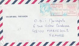 NOUVELLE CALEDONIE LETTRE POUR LA FRANCE 1999 - Cartas