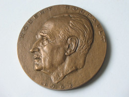 Médaille ROBERT SOUPAULT 1968 - Chirurgien -Ecrivain   **** EN ACHAT IMMEDIAT *** - Professionnels / De Société