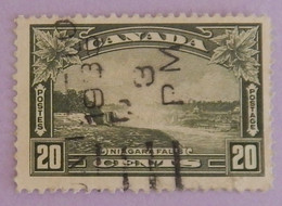 "CANADA YT 187 OBLITÉRÉ ""CHUTE DU NIAGARA"" ANNÉE 1935 - Oblitérés"