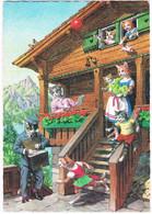 Chats Humanisé-dressed Cats -katzen -geklede Poezen Postbode -Mainzer - Chats