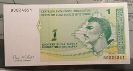 BOSNIA & HERZEGOVINA - P.59a – 50 K. Marka1998 - UNC - Bosnia And Herzegovina