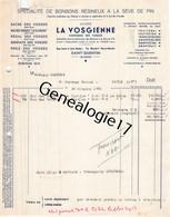 02 0263 SAINT QUENTIN AISNE 1951 -DECHIREE - Bonbons Seve De Pin LA VOSGIENNE Confiserie VOSGES Usine Bd Henri Martin - 1900 – 1949