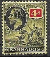 Barbados Mh * 2,4 Euros Multiple CA Wtm - Barbados (...-1966)