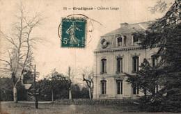 X23677  GRADIGNAN  CHATEAU LANGE - Gradignan