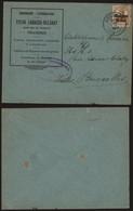 Belgique 1917 - Lettre Houdeng Vers Bruxelles - Censure De Charleroi - [OC1/25] Gen. Gouv.