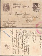 """Entero Postal - Edi O 86 - """"Sevilla 18/10/40"""" A Cuba + """"Censura De La Dirección General Seguridad"""" - Hay Llegada - 1850-1931"""
