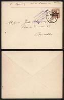Belgique 1916 - Lettre Saint-Nicolas Vers Bruxelles - Censure Anvers - [OC1/25] Gen. Gouv.