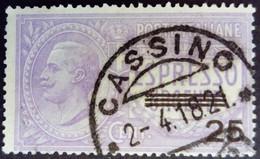 Italie Italy Italia 1917 Victor Emmanuel III Express Espresso Surchargé Overprint Soprastampati 25 Yvert 5 O Used Usato - Express Mail