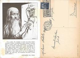 Leonardo Da Vinci. Viaggiata 1949 - Sin Clasificación