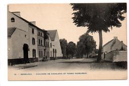 Gembloux: Chaussée De Charleroi Et Ferme Hambursin - Gembloux