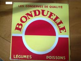 Plaque Publicitaire Bonduelle - Autres
