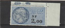 T.F.S.U N°336 Neuf - Steuermarken