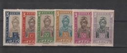 Gabon  Taxes N°12.13.14.16.18.19. - Timbres-taxe