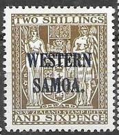 Samoa Mint Hinge Trace * 1935  8,50 Euros - Samoa