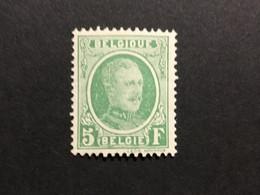 1922.Type Houyoux COB 209a*.MH. - 1922-1927 Houyoux