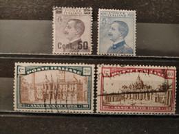 ITALIE - 1923/1924 (voir Détail Et Scan) - Vari