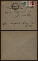 Belgique 1916 - Lettre Les Waleffes Vers Bruxelles - Censure De Huy - [OC1/25] Gen. Gouv.
