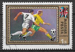 Hungary 1972. Scott #C319 (U) European Soccer Championshiphs, Great Britain - Gebraucht