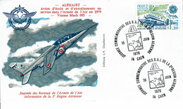 "1979 - Oblit Temporaire ""JOURNEE COMMEMORATIVE DES B.A.I. DE LA 2eme REGION AERIENNE - CAEN"" Tp N°2046 - Matasellos Conmemorativos"