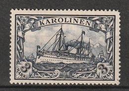 Deutsche Kolonien - CAROLINES - N°18 Nsg (1900) - Colonie: Carolines