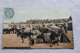 Cpa 1907, Berck Plage, Cure D'air Sur La Plage, Pas De Calais 62 - Berck