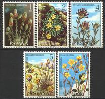 España, 1974, Flora, Serie Completa, MNH** - 1971-80 Nuevos & Fijasellos