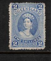 QUEENSLAND 1882 2/6 QV SG 157 MNG #BNU22 - Gebraucht