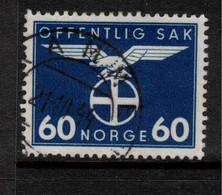 NORWAY 1942 60ore Official SG O345 U #BMN5 - Officials