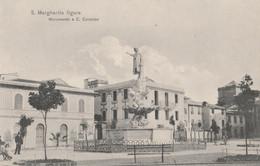 CARTOLINA NON VIAGGIATA S.MARGHERITA LIGURE  MONUMENTO CRISTOFORO COLOMBO (ZK1171 - Altre Città