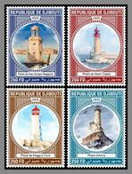 DJIBOUTI 2020 MNH Lighthouses Leuchttürme Phares 4v - OFFICIAL ISSUE - DHQ2108 - Faros