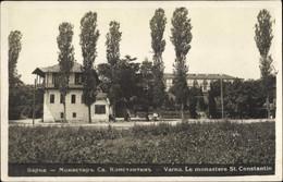 CPA Warna Bulgarien, Le Monastere St. Constantin, Blick Auf Das Kloster - Bulgaria