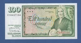 ICELAND - P.50a (11) – 100 Kronur 1961 - UNC - Islanda