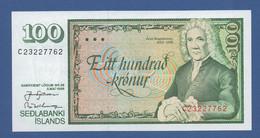 ICELAND - P.54a (1) – 100 Kronur 1986 - UNC - Iceland