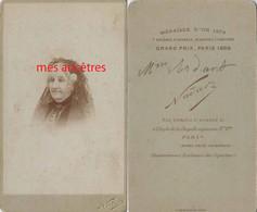 Amusant-par Nadar-CDV Mme ARDAN Anagramme De Nadar - Old (before 1900)