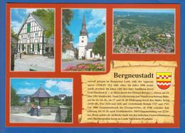 Deutschland; Bergneustadt; Multibildkarte - Bergneustadt