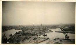 DUNKERQUE LE PORT 1940 PHOTO ORIGINALE J. LOSFELD MALO LES BAINS FORMAT 11 X 6.50 CM - Guerra, Militares