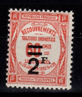Taxe YV 54 N* Cote 23 Euros - 1859-1955 Mint/hinged