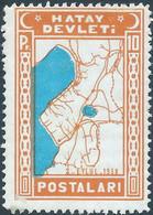 TURCHIA-TURKEY-TÜRKEI-TURQUIE,1938 HATAY DEVLETI, MNH - Ungebraucht