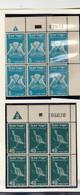Israel > 1948-59 NEUF** PAR BLOC DE 6EN  BORDS DE FEUILLE (+ N°CONFECTION)PA N° 1+2+3+4+6 //5VALEURS - Neufs (sans Tabs)