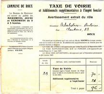 Commune De Roux  1936 - Collezioni