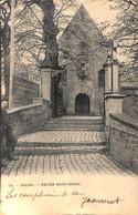 Arlon - Eglise Saint-Donat (animée, Photo Bertels 1905...pli Colle Au Dos) - Arlon