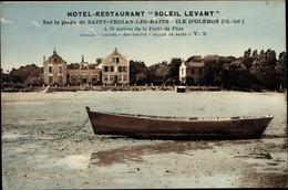 CPA Saint Trojan Les Bains Charente Maritime, Hotel Restaurant Soleil Levant - Sonstige Gemeinden
