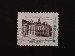 FRANCE MONTIMBRAMOI OBLITERE - AMICALE PHILATELIQUE DU MONT BLANC FETE SES 60 ANS - Personalized Stamps (MonTimbraMoi)