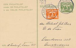 Nederland - 1930 - 3 Cent Cijfer, Particulier Bedrukte Briefkaart + 2 Cent - Een Philatelist Zonder De Philatelist Is... - Postwaardestukken