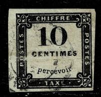 A2b- N°1 Litho  Pli - 1859-1955 Usati