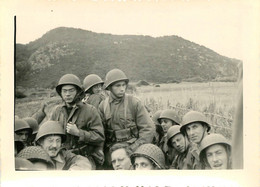 GUERRE D'ALGERIE OUED EL HACHEM 1954 PHOTO ORIGINALE  11 X 8 CM - Krieg, Militär