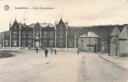 LANDELIES - Place Communale - Carte Circulé En 1926 - Charleroi