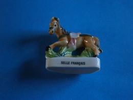 CHEVAUX DE PARADE - SELLE FRANCAIS - GRAND MODELE FEVE BRILLANTE - Animaux